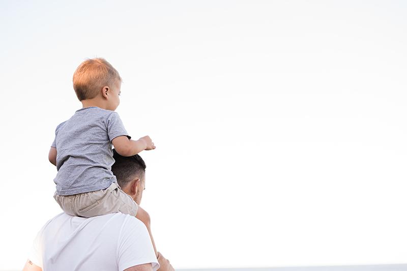 Il bonding padre-bambino